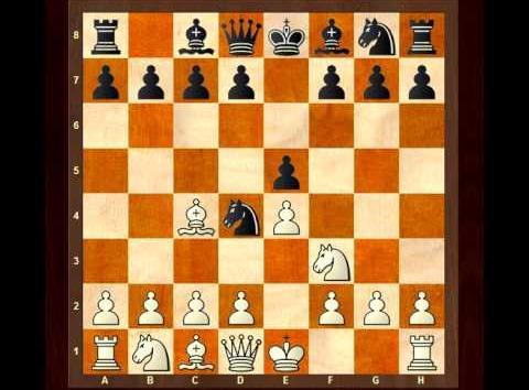 Blackburne Shilling Gambit