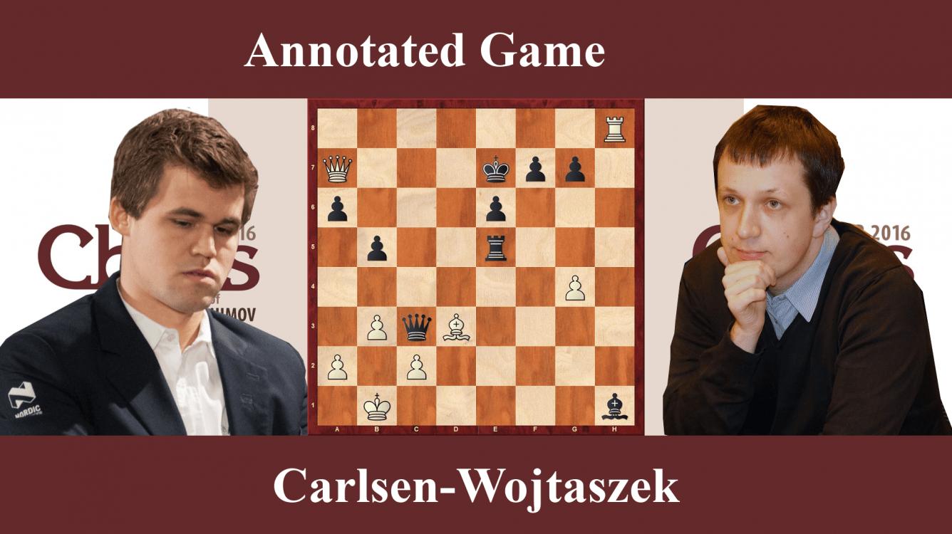 Carlsen vs Wojtaszek - Shamkir