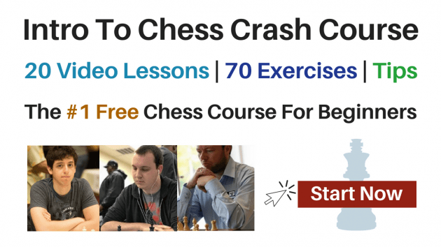 Get Chess University's Intro To Chess Crash Course!
