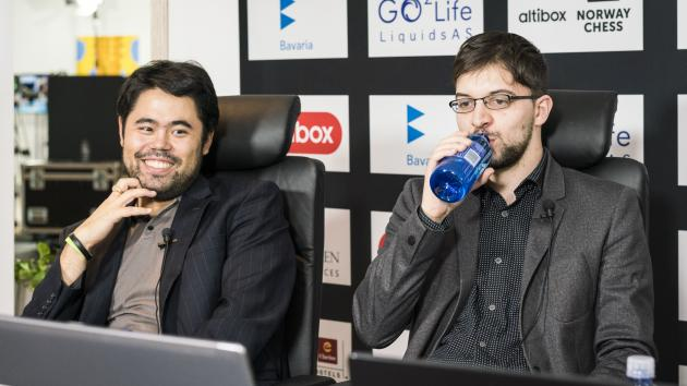 Altibox: Nakamura tests Carlsen's idea against the Najdorf