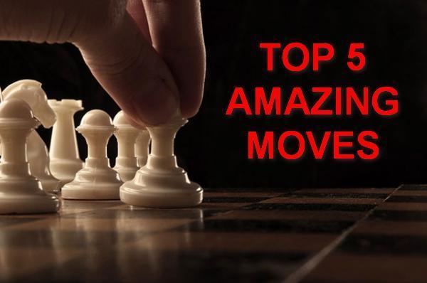 Top 5 my amazing moves