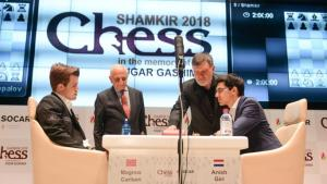 Giri outperforms Carlsen in first half 2018 by a hair