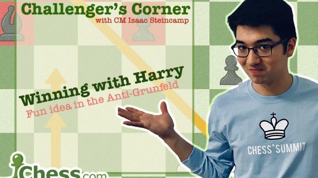 Challenger's Corner: Using Harry in the Anti-Grünfeld!