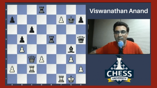 Last Chance To Join GM Vishy Anand's Special Masterclass