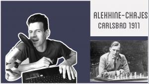 Une partie d'Alekhine pour illustrer la faiblesse sur cases noires