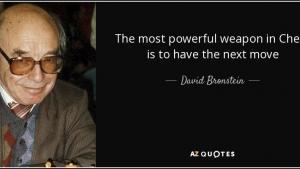 David Bronstein. II Atacando por las bandas