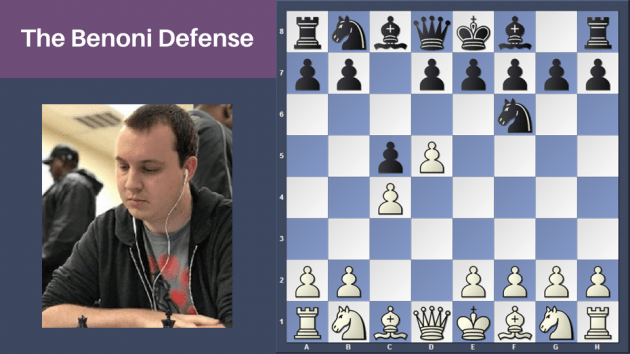 Preview Chess Openings 101: Intro To The Benoni Defense Course
