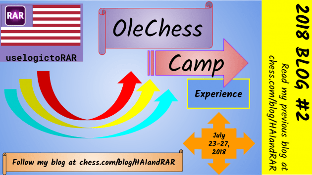 My experience at OleChess 2018