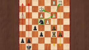Knight and 2 pawns versus a rook in the endgame