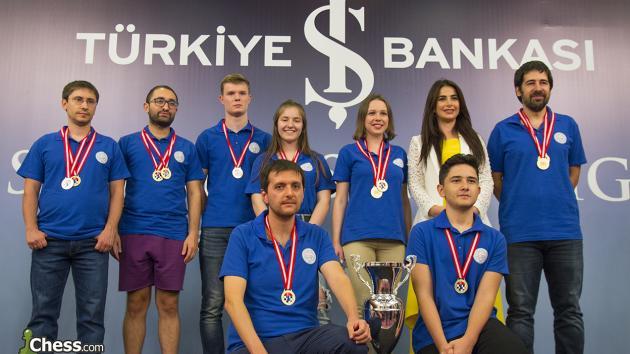 Süper Lig'de Şampiyon Hatay Büyükşehir Belediyesi Gençlik Spor Kulübü!