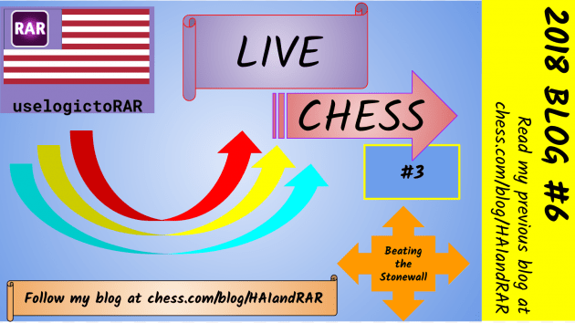 Beating the Stonewall Opening -- LIVE CHESS BLOG 3