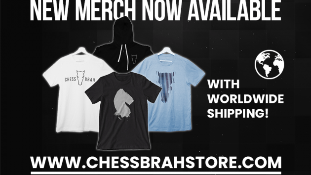 New Chessbrah Merchandise
