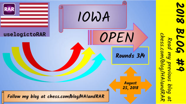 2018 Iowa Open Rds 3 and 4