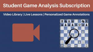 Presenting Chess University's Student Game Analysis Subscription!