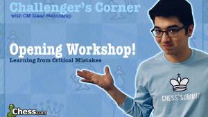 Challenger's Corner: Opening Workshop!