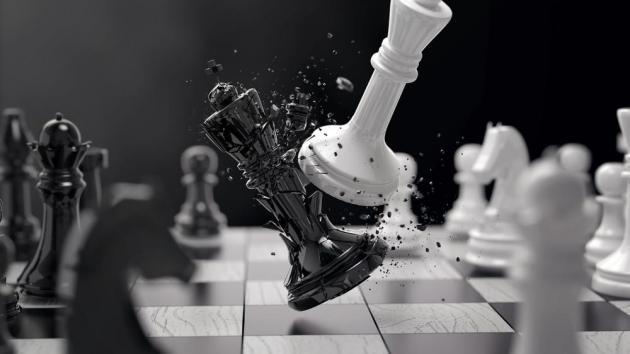 The first deep positional chess game
