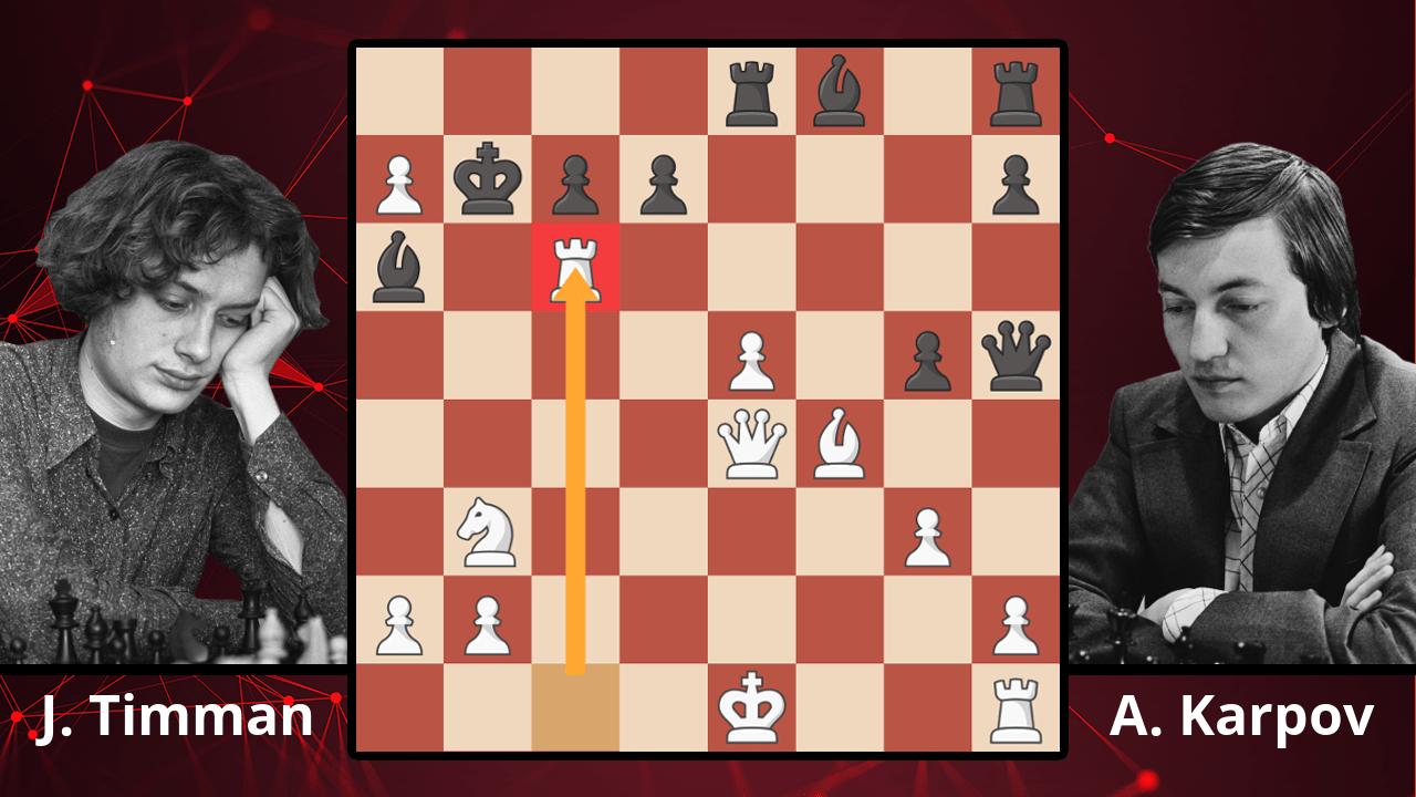 Chess Masterpieces: Timman vs. Karpov, 1984