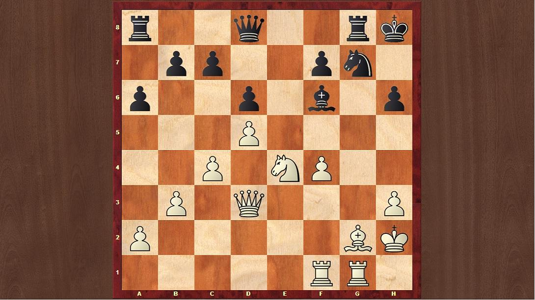 Adams vs Carlsen, Khanty-Mansiysk Olympiad 2010