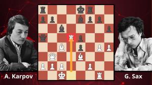 Chess Masterpieces: Karpov vs. Sax, 1983