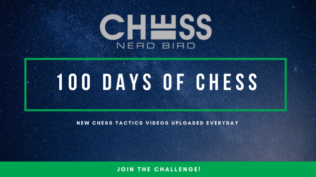 100 Days of Chess Challenge Starts October 15