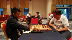 Another day at the European Club Cup in Halkidiki