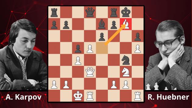Chess Masterpieces: Karpov vs. Huebner, 1982