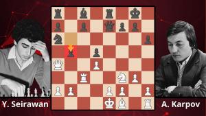 Chess Masterpieces: Seirawan vs. Karpov, 1982