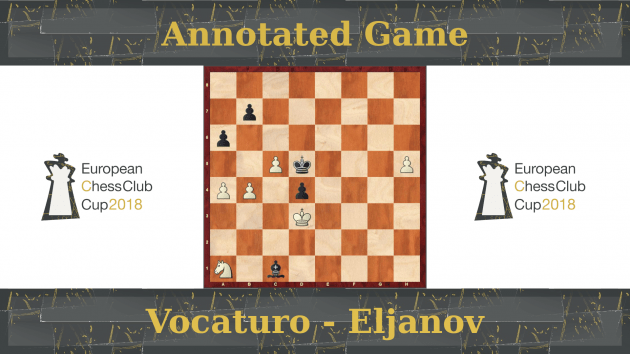GM Vocaturo vs GM Eljanov - European Club Cup