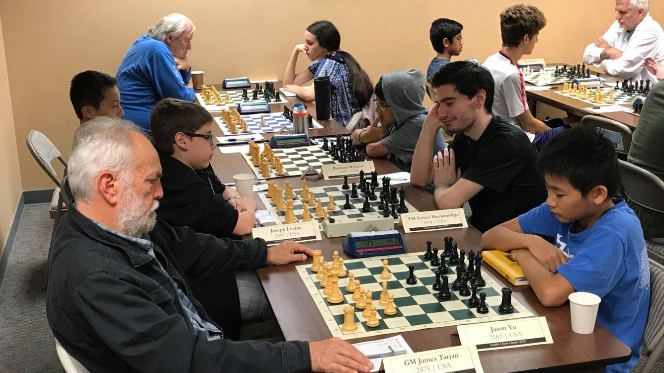 Sentenced to Chess:  Seattle Classic 2018