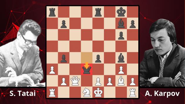 Chess Masterpieces: Tatai vs. Karpov, 1977