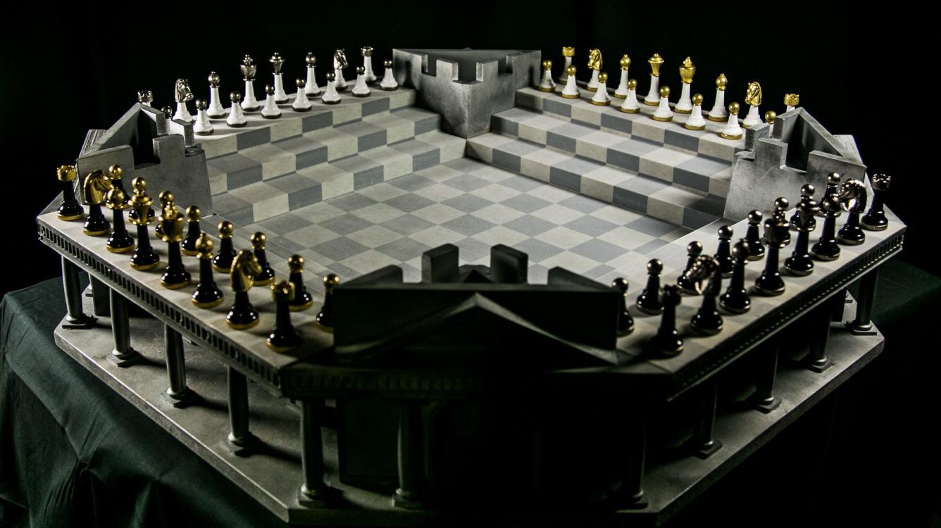 Четверные шахматы - советы новичкам