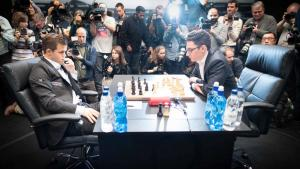 WCC 2018 Rd 1: Caruana survives major scare in 7-hour thriller