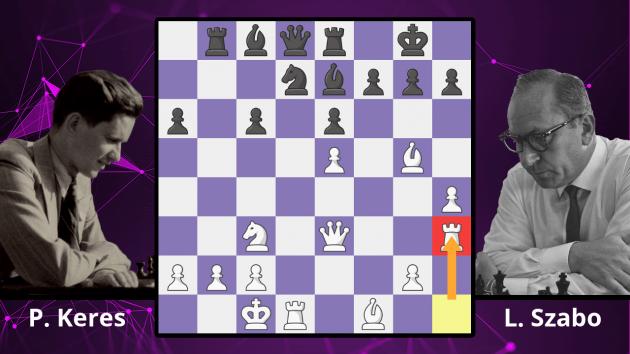 Chess Masterpieces: Keres vs. Szabo, 1955