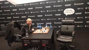Carlsen-Caruana, WCh 2018 - Game 10