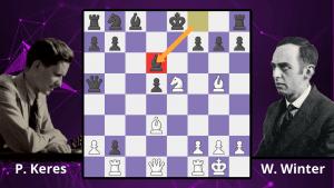 Chess Masterpieces: Keres vs. Winter, 1935