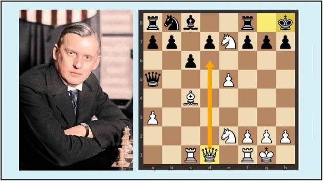 A miniature by Alekhine (+ Video)