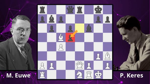 Chess Masterpieces: Euwe vs. Keres, 1940