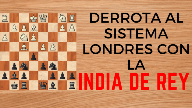 Derrota al Sistema Londres con la India De Rey! GM Jose Gascón