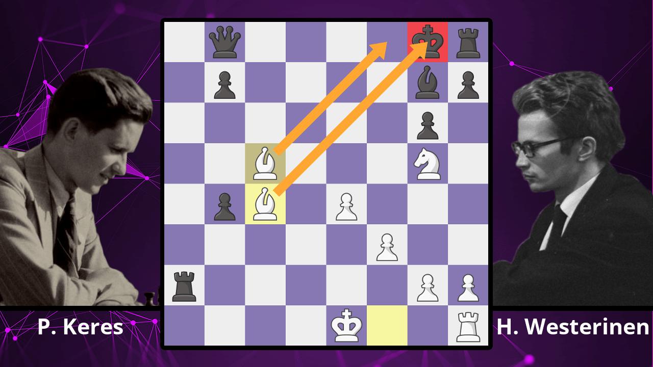 Chess Masterpieces: Keres vs. Westerinen, 1973