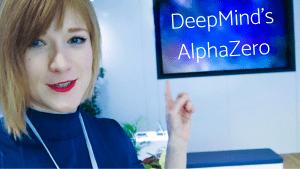 Anna Rudolf Visits The AlphaZero Headquarters