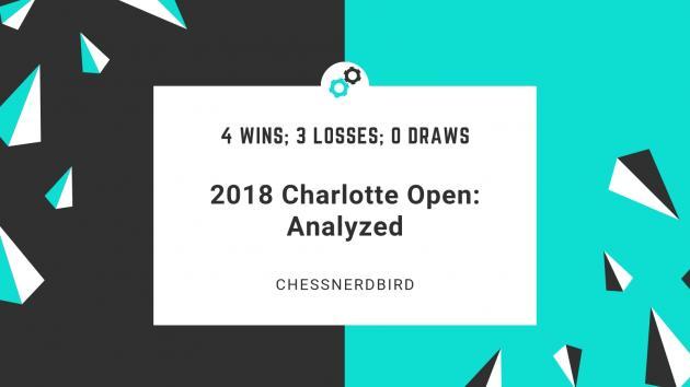 2018 Charlotte Open: The e5 Square, Bad Knight Moves