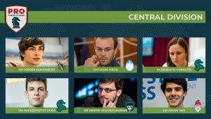 Première journée de PRO Chess League pour les clubs français