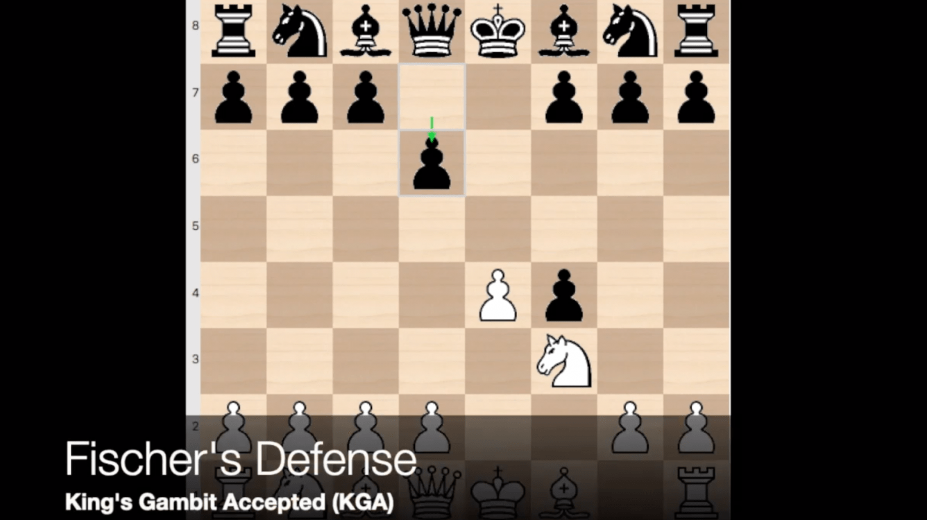 Intro to the Fischer Defense (King's Gambit Accepted)