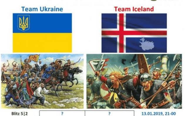 Викинги против Козаков! Исландия - Украина.