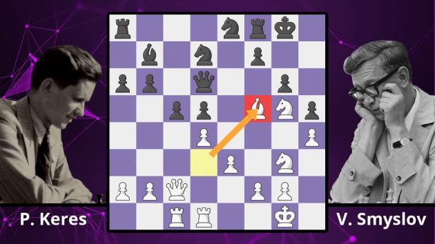 Chess Masterpieces: Keres vs. Smyslov, 1939