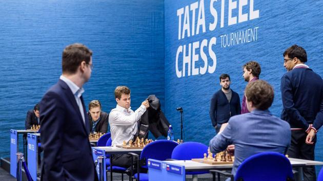 """Tata Steel Masters Rd 1-5: """"Black is OK!"""""""
