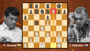 Chess Masterpieces: Anand Crushes The Sicilian - Anand vs. Sokolov, 1992