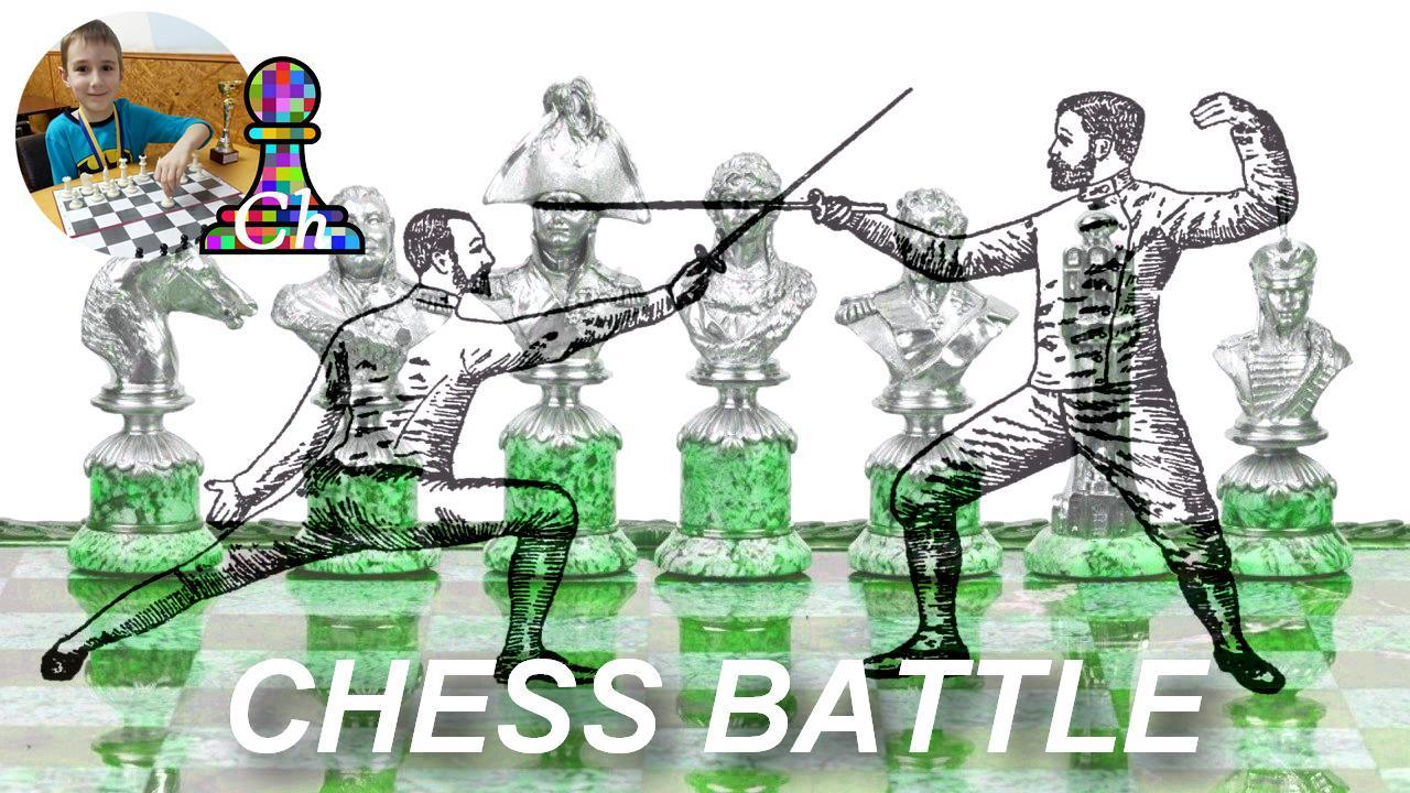 Chess revenge match.