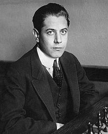 Capablanca's Copycat Game in the Four Knights