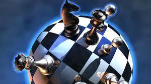 Chess or Mathematics? Staircase